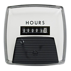"Yokogawa 240211ACAB - Elapsed Time Meter - 2.5"", 6-Digit, 480V, Non-resettable - Hours"