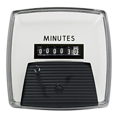 "Yokogawa 240214AAAB - Elapsed Time Meter - 2.5"", 6-Digit, 120V, Resettable - Minutes"
