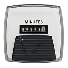 "Yokogawa 240314AAAB - Elapsed Time Meter - 3.5"", 6-Digit, 120V, Resettable - Minutes"