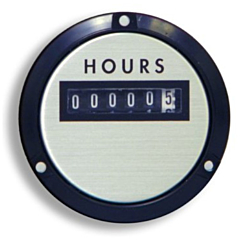 "Yokogawa 240632ACAE - Elapsed Time Meter - 2.5"", 6-Digit, 480V, Resettable - Hours"