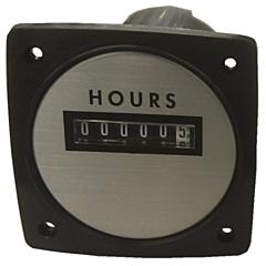 "Yokogawa 240611ACAD - Elapsed Time Meter - 2.5"", 6-Digit, 480V, Non-resettable - Hours"