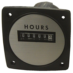 "Yokogawa 240612ACAD - Elapsed Time Meter - 2.5"", 6-Digit, 480V, Resettable - Hours"