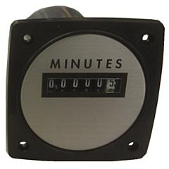 "Yokogawa 240613ABAD - Elapsed Time Meter - 2.5"", 6-Digit, 240V, Non-resettable - Minutes"