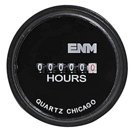 ENM Chicago T50B212 115V Hour Meter 00000 Hours