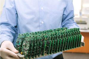 Manufactured PCB